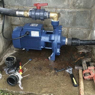 reparación, instalación y service de bombas de agua. 24hs.
