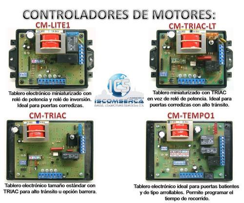 reparación- instalaciones de portones eléctricos y motores