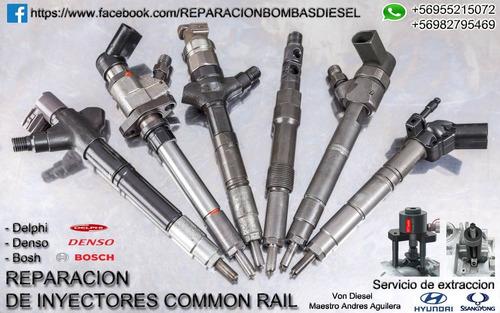 reparacion inyectores common rail