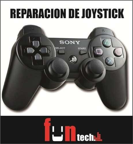 reparacion joystick ps3 ps4 xbox swtich joycon mouse gamer
