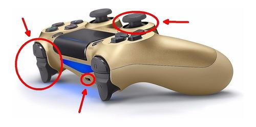 reparación joystick ps4 sony cambio de sticks pin de carga
