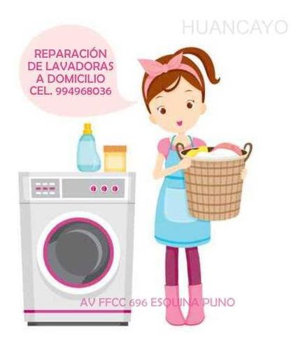 reparacion lavadoras en general a domicilio huancayo