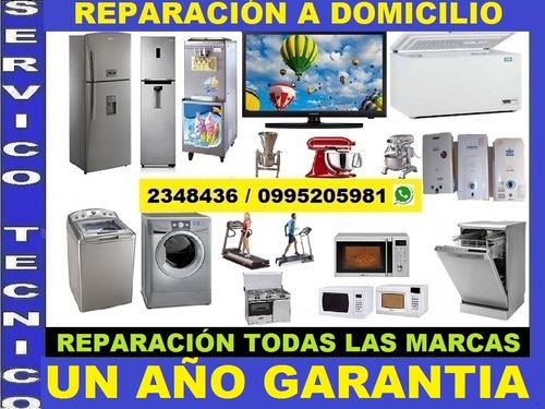 reparacion lavadoras quito refrigeradoras secadora tv calefo