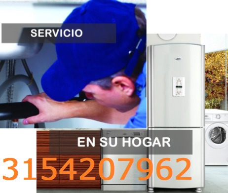 reparación lavadoras,neveras, 3154207962 garantizado