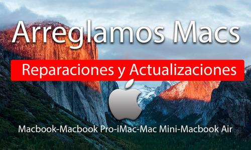 reparacion macbook, imac, macbook air