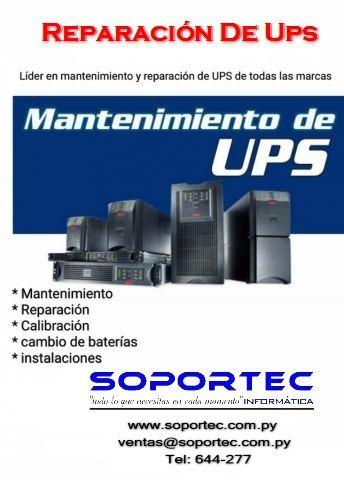 reparacion, mantenimiento, cambio de bateria, ups