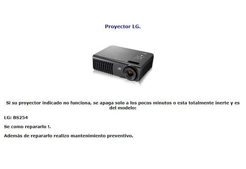 reparación mantenimiento proyectores / infocus / epson /etc.