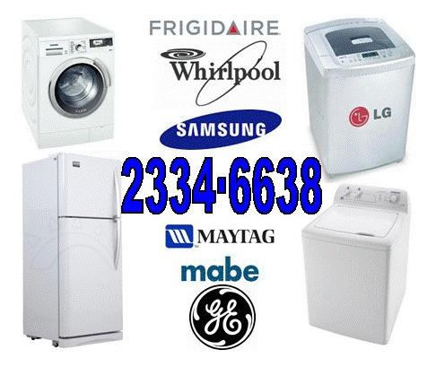 reparación mantenimiento refrigeradoras lavadoras secadoras