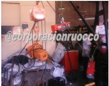 reparacion  mantenimiento winches polipastos motores d carga