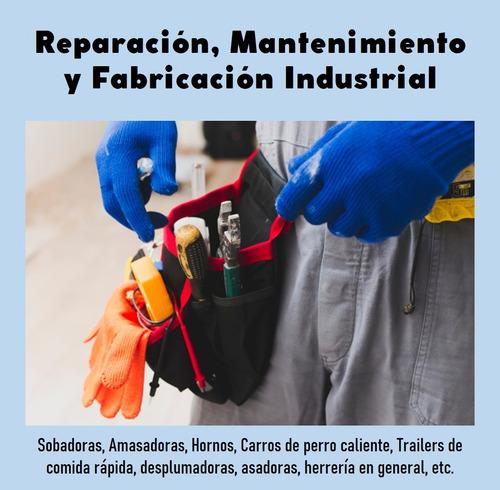 reparación, mantenimiento y fabricación de maquinaria