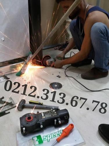 reparacion mantenimientos, puertas de vidrio frenos tecnicos
