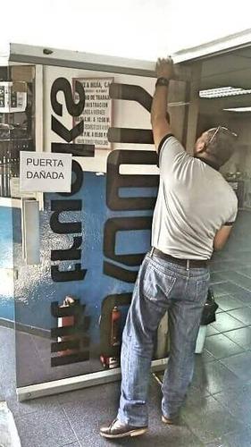 reparacion mantenimientos puertas de vidrio templado ventana