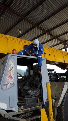 reparacion maquinaria pesada ( montacargas excavadora grúas)