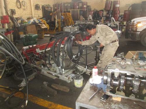reparación me maquinaria pesada