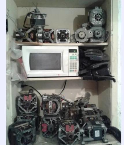 reparación motores lavadora secadoras transmisión rolinera