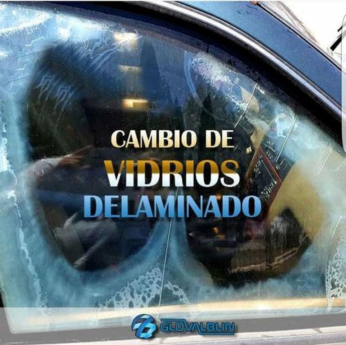 reparación o cambio de vidrios blindados delaminados