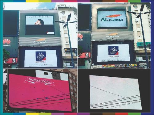 reparación pantalla led publicidad interior exterior pitch