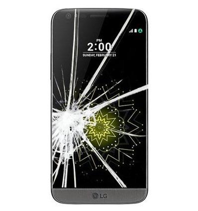 reparación pantalla rota lg g6 g5 se g4 x cam x screen nexus