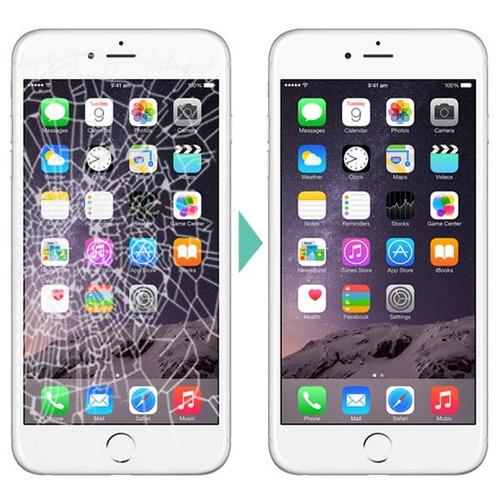 reparación pantalla vidrio iphone 7 en el acto ramos mejía