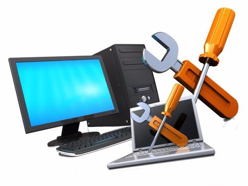 reparación pc, laptops, modem, monitores lcd e impresoras