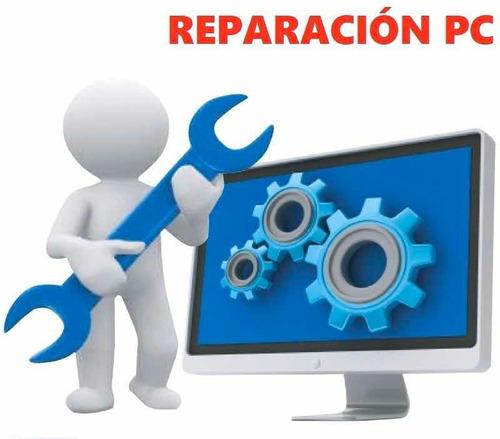reparación pc, notebook e impresoras