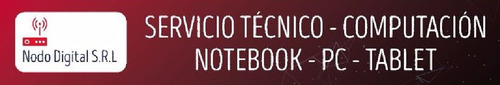 reparacion pc notebook hp asus sony bgh bangho lenovo rca sa