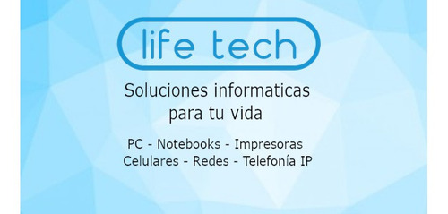 reparación pc notebooks impresoras - life tech solutions
