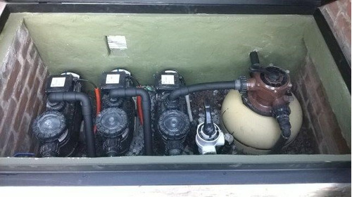 reparacion perdidas, rajaduras, filtro y bombas pileta