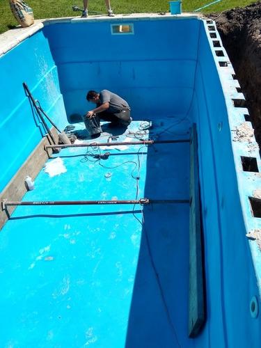 reparación piletas fibra de vidrio material 2215752557 wsp