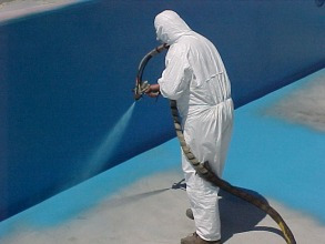 reparación, piscinas fibra de vidrio  ,hormigón pintura  rm