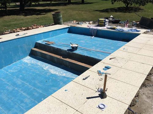 reparacion piscinas hormigon. revestimiento