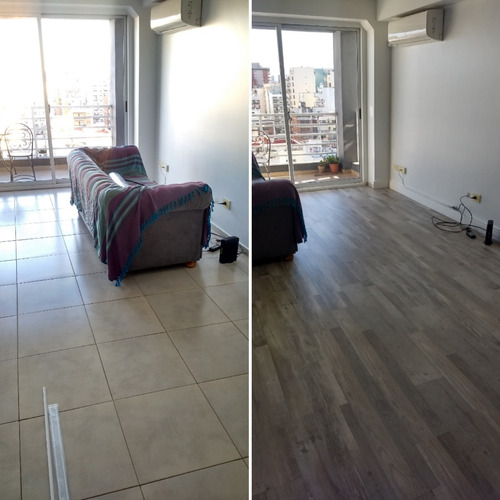 reparación piso vinilico flotante pvc madera colocación deck