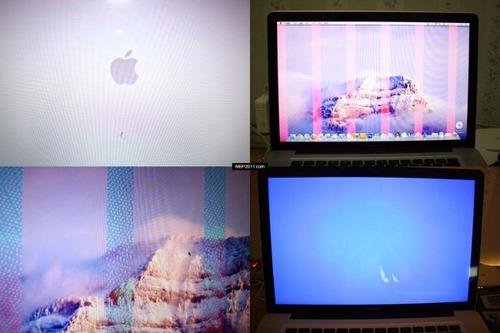 reparación placa video  de mother macbook pro 15 y 17 i5 i7