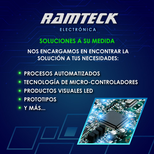 reparación placas plaquetas electrónicas electrónico ramteck