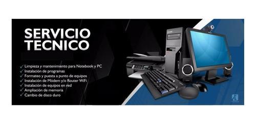 reparacion portatiles y pc, servicio tecnico y formateado.