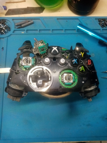 reparación prof. para controles xbox -- the best gane vid