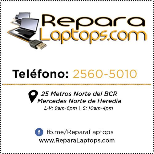 reparación, programas y repuestos para computadora portátil