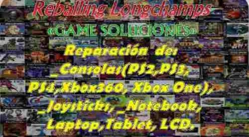 reparación ps4 ps3 xbox luz azul - reballing longchamps -
