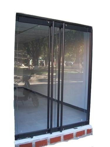 reparación puertas de vidrio templex