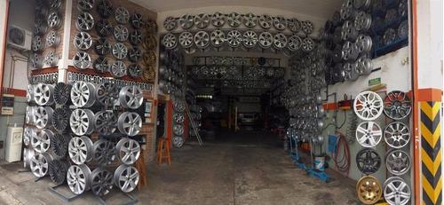 reparacion, recambio llantas de aleación, chapa y motos jcs