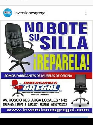 reparacion restauracion tapizado retapizado sillas oficina