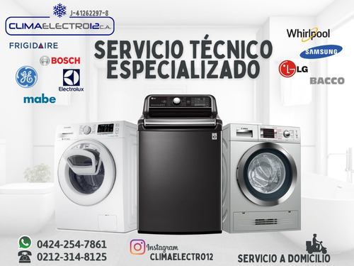reparacion samsung whirlpool lg ge lavadora secadora nevera