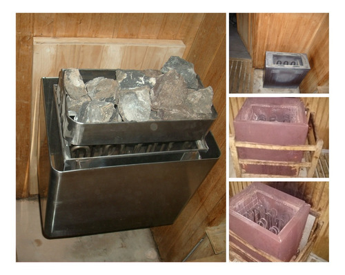 reparación sauna seco y sauna húmedo