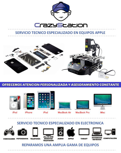 reparacion service arreglo iphone camara bateria pantalla