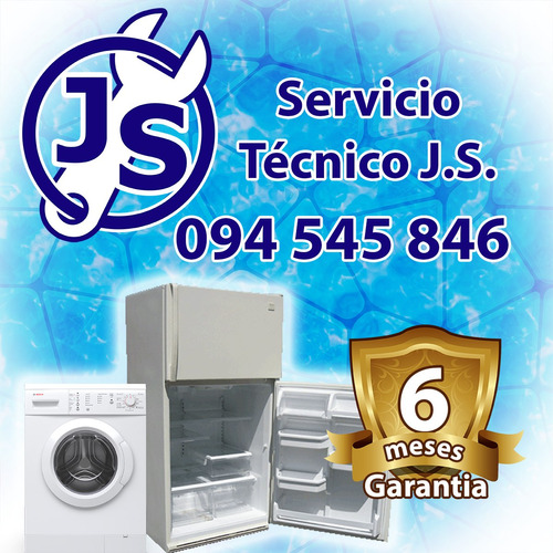 reparación service heladeras lavarropas aire acondicionado