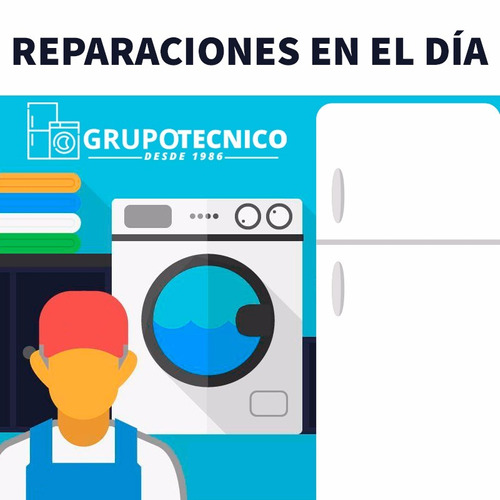 reparacion service lavarropas, heladeras, todas las marcas