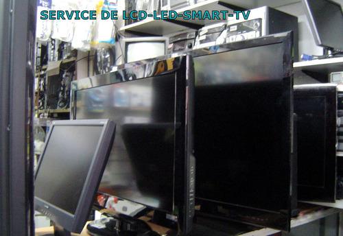 reparación service smart tv - led - lcd -tv todas las marcas