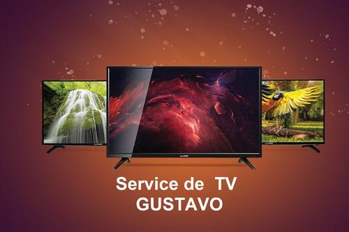 reparacion service tecnico de tv a domicilio gustavo
