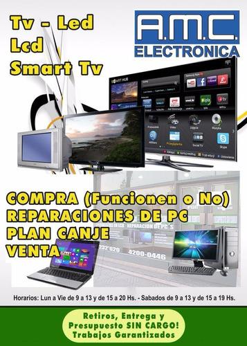 reparación service tv led smart 32,40,46,55 - quilmes