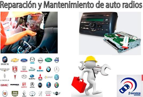 reparacion / servicio técnico auto-radios originales